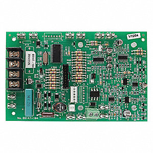Plastic PCBA Board, Green; For Industrial Telephones