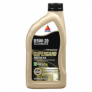 Engine Oil,1 qt,Amber,Synthetic Base