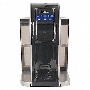 Coffee Maker,11-1/2 in. L,Plastic,120VAC