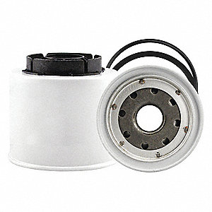 Fuel Filter,3-9/16 in. Lx3-3/4 in. dia.