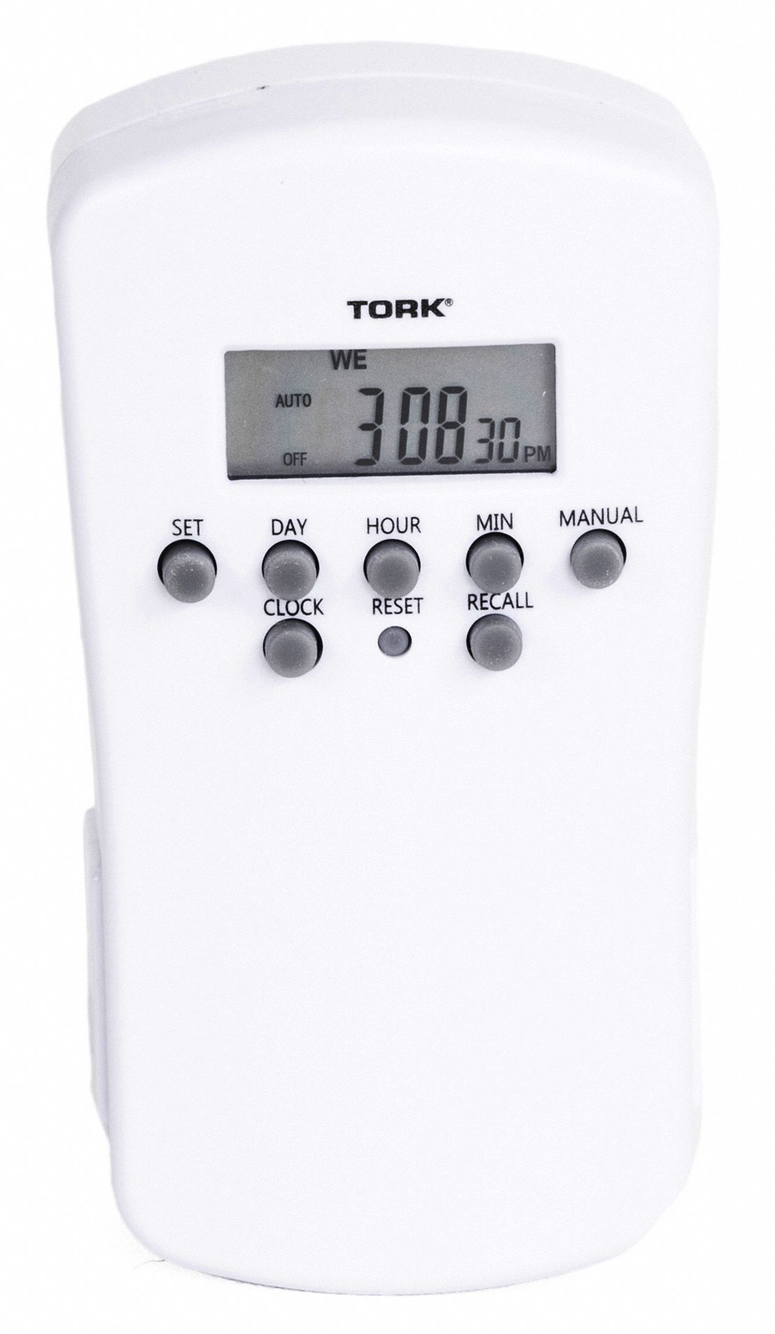 Plug In Timer,1800 Watts,Digital,125V