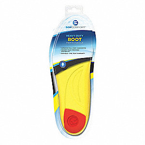 Men's Anti-Fatigue Molded Insole, Size: Men 7 to 13