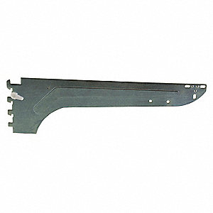 "14"" Blade Bracket, Silver with Satin Finish, PK25"