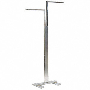 "Two Way Floor Rack,Steel,16"" L,20"" W"