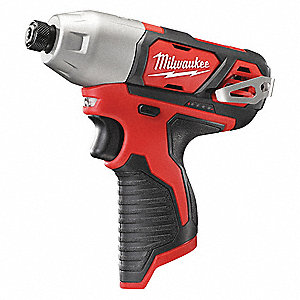 "1/4"" Cordless Impact Driver, 12.0 Voltage, 1000 in.-lb. Max. Torque, Bare Tool"