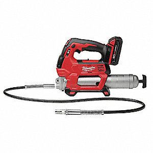 Cordless Grease Gun, Voltage 18.0 Li-Ion, Battery Included, Cartridge Capacity 14-1/2 oz.