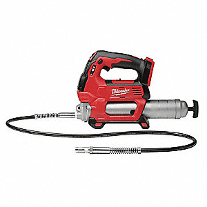 Cordless Grease Gun, Voltage 18.0 Li-Ion, Bare Tool, Cartridge Capacity 14-1/2 oz.