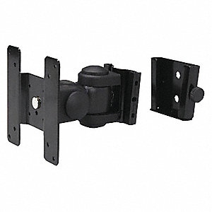 "Swivel Monitor Wall Mount For Use With Up to 20"" Monitors"