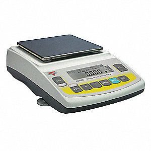 Precision Balance Scale,3000g,6-1/2 in.D