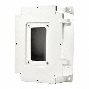 Surface Mount,3-25/64 in. H,Wall
