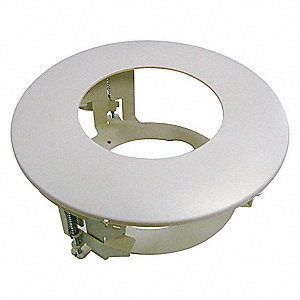 Flush Mount Adapter,2-7/8 in. H,Metal