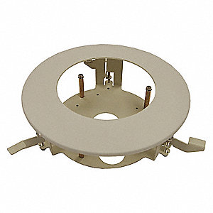 Flush Mount Adapter,2-7/8 in. H,Ceiling