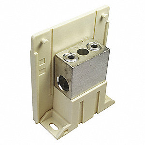 Power Distribution Block, 175 Max. Amps, Number of Poles: 1, Primary Wire Range (AWG): 14 to 2/0 AWG