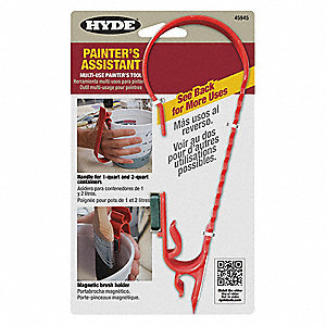Painters Tool,Red,6-1/4 in. L,2-1/4 in.W