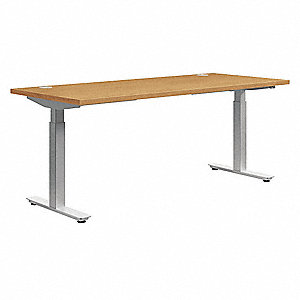 "Rectangle Training Tabletop, Harvest, 72""W x 30"" Depth"