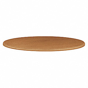 "42"""" x 42"""" x 1-1/8"""" HPL Round Table Top, Harvest"