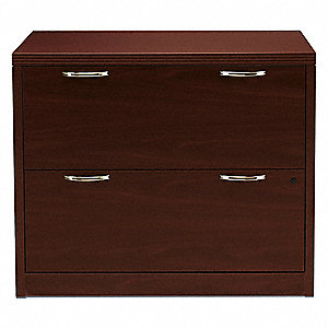 File Cabinet,29-1/2 in. H,Arch Handle