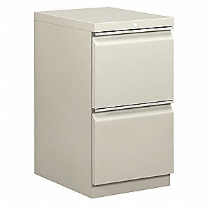 File Cabinet,Light Gray,15 in. W,Steel