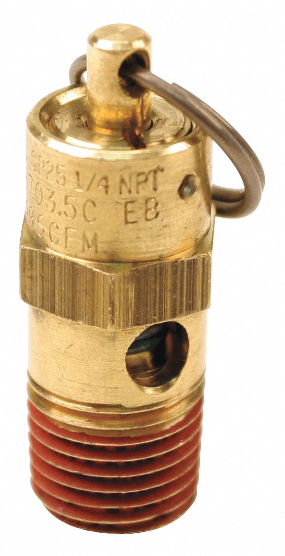 CONTROL DEVICES ST25-1A150 Air Safety Valve,1//4 In Inlet 150 psi