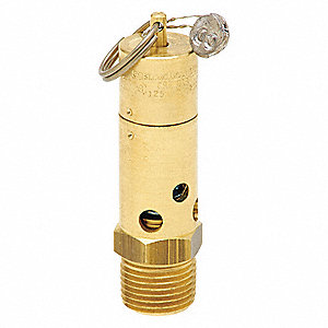 Brass Air Safety Valve with Soft Seat Valve Type