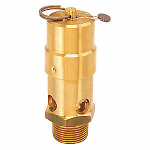 "Air Safety Valve,1"" Inlet, 275 psi"