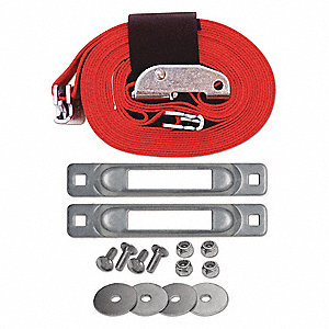 Platform Cart Strap Anchor Kit with Cam