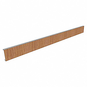 "Apron Rail,Wood,2.5""H,30""W"