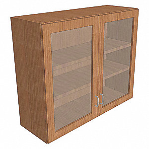 "Wall Cabinet,Wood,31.25""H,48""W"