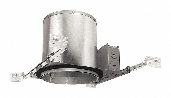6 in LED Recessed Down Light Housing for Airtight New Construction, IC Rated, 90.0 Max. Wattage
