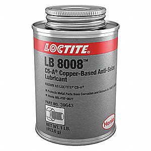 Copper Anti-Seize Compound, -20°F to 1800°F, 16 oz., Copper