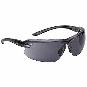 Bolle IRI-S Anti-Fog, Scratch-Resistant Safety Glasses, Smoke Lens Color