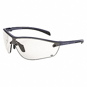 Bolle Silium + Anti-Fog, Scratch-Resistant Safety Glasses, CSP Lens Color