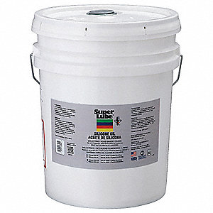 Silicone Hydraulic Oil, 5 gal. Pail, ISO Viscosity Grade : Not Specified