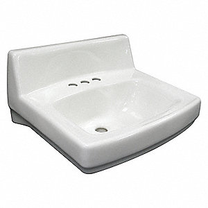 Kohler Vitreous China Wall Bathroom Sink Without Faucet