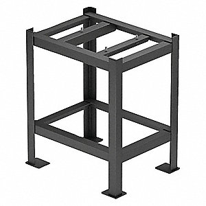 Surface Plate Stand,24 in. W,Stationary