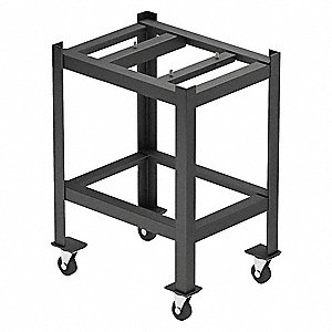 Surface Plate Stand,48in.W,Mobile,72in.L