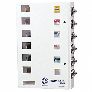 Medicine Vending Machine,49 lb.,Steel