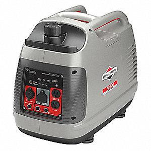 Recoil Gasoline Portable Inverter Generator, 1700 Rated Watts, 2200 Surge  Watts, 120VAC