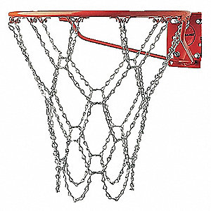 "21"" Zinc Plated Steel Chain Basketball Goal Net"