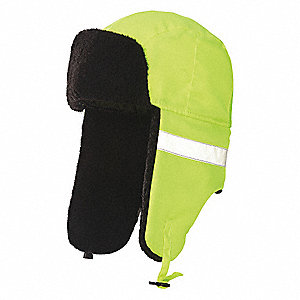 Hi-Vis Hat,Yellow,22-1/4 in.