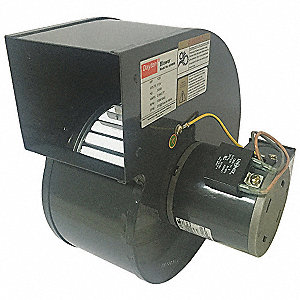 "Rectangular Permanent Split Capacitor OEM Specialty Blower, Flange: No, Wheel Dia: 5-1/8"", 230VAC"
