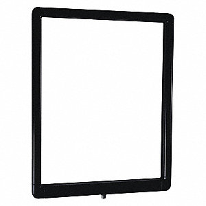 Sign Frame,Black,14 in. H