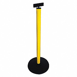 Sign Holder,Aluminum,Yellow,40 in.