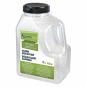Super Absorbent,Polymer,1 gal.,White