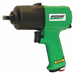 Air Powered,  Impact Wrench,  90 psi,  295 ft.-lb. Fastening Torque