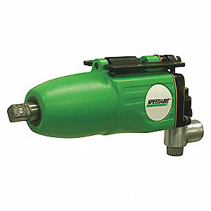 "Industrial Duty Air Impact Wrench, 3/8"" Square Drive Size 5 to 70 ft.-lb."