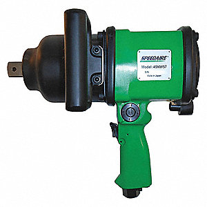 "Industrial Duty Air Impact Wrench, 1"" Square Drive Size 200 to 1000 ft.-lb."