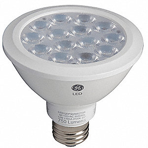 12.0 Watts LED Lamp, PAR30, Medium Screw (E26), 1000 Lumens, 2700K Bulb Color Temp.