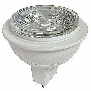7.0 Watts LED Lamp, MR16, 2-Pin (GU5.3), 460 Lumens, 4000K Bulb Color Temp.