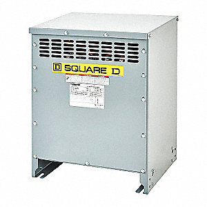 15kVA Three Phase Transformer, Input Voltage: 208VAC Delta